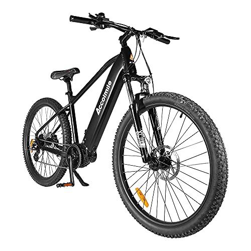 Accolmile Bicicleta Eléctrica de Montaña de 27,5 Pulgadas, BAFANG M200 Torque Mid Motor 36V 250W,...*