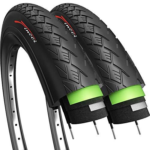 Par de Fincci Carretera montaña híbrida neumático para Bicicleta Cubiertas 700 x 35 с 37-622