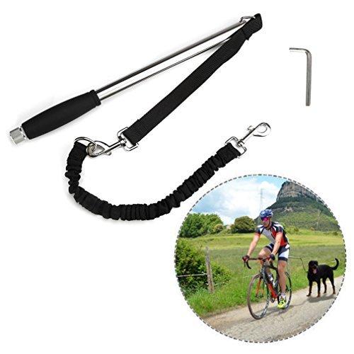 Itian Titular de Bicicletas para los separadores de Rack Moto Perro guía para la Bici de la...*