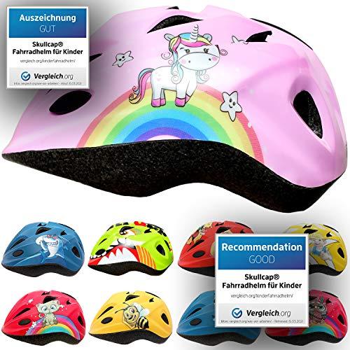 SkullCap® Casco de Bicicleta para Niños y Niñas de 2 a 7 años - Scooter de Ruedas y Bicicleta