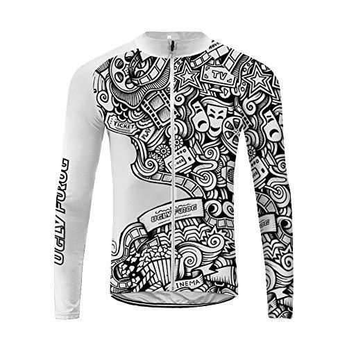 UGLY FROG Bike Wear Nuevo De Ropa Ciclismo Hombre Invierno Mantener Caliente Manga Larga Maillot Ciclismo Winter Style