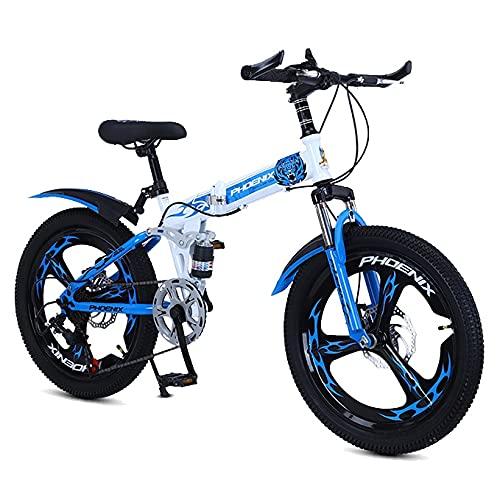 FUFU Bicicleta De Montaña para Niños De 20 Pulgadas, Adecuada para Niños Y Niñas, Equipada con...*