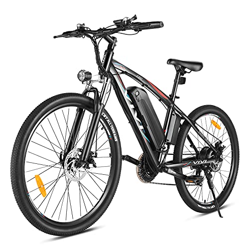 VIVI Bicicleta Eléctrica de 27.5 Pulgadas,Bicicleta Eléctrica de Montaña para Adultos 500W,...*