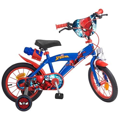 Toims 874 Spiderman - Bicicleta para niños, tamaño 14 pulgadas*