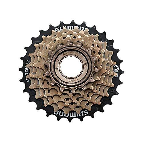 QYHSS Piñón de la Bicicleta, MF-TZ500 corona dentada, Acero Inoxidable 7 Velocidad Rueda Libre Cassette reemplazo de Accesorios de Bicicletas de montaña Rueda, para Bicicleta de montaña