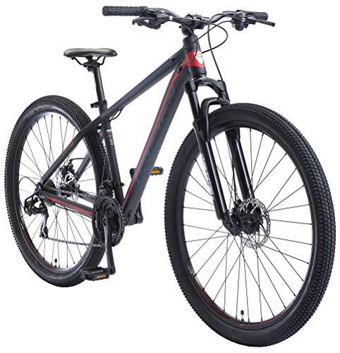 BIKESTAR Bicicleta de montaña Hardtail de Aluminio, 21 Marchas Shimano 29