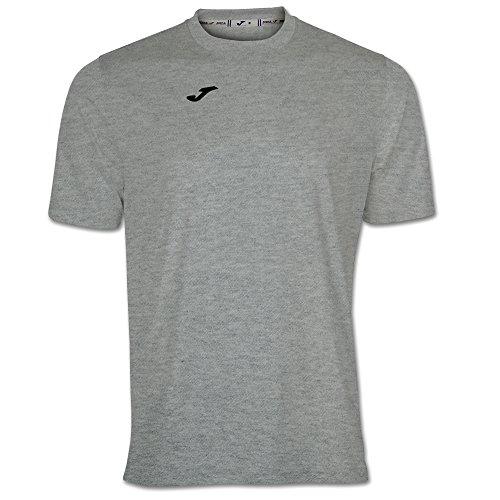 Joma Combi Camiseta Manga Corta, Hombre, Gris (Melange Claro), L*