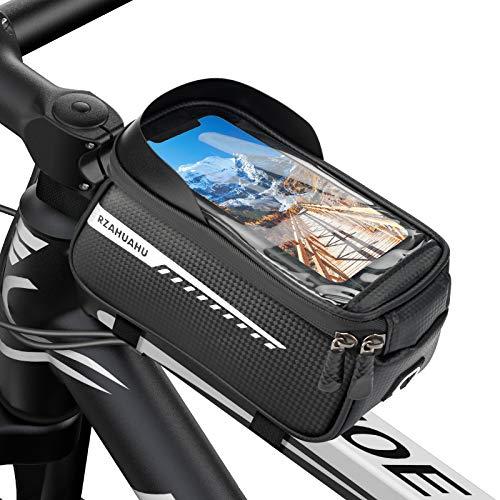 Sykollas Bolsa Bicicleta, Soporte Movil Bicicleta Accesorios para Montaña Impermeable por Debajo de...*