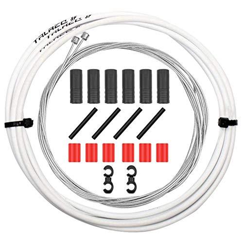 CTRICALVER Cable de freno y carcasa de bicicleta, juego de cables de freno de bicicleta de montaña,...*