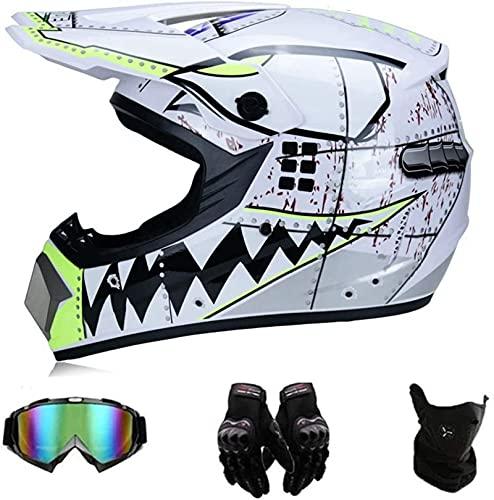 Casco de moto de cross para niños, casco completo para MTB, casco juvenil para moto de cross, casco...*