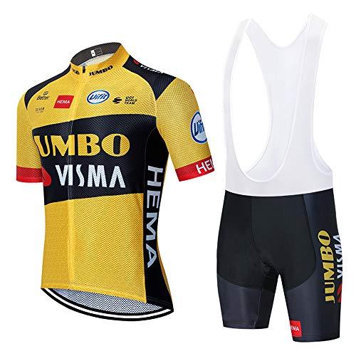 METAAN Hombres de Bicicleta con 5D Gel Acolchado MTB Ciclismo Maillots Tirantes Culotte Pantalones Cortos Culotes