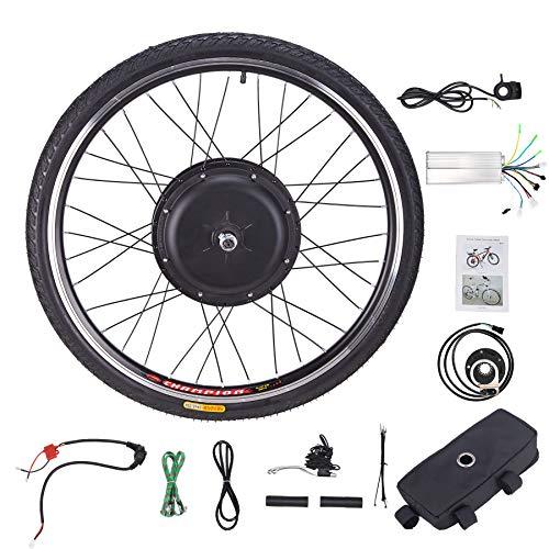 Sfeomi Kit de Conversión de Bicicleta Eléctrica 48V 1000W Kit de Conversión de Bicicleta 26''...*