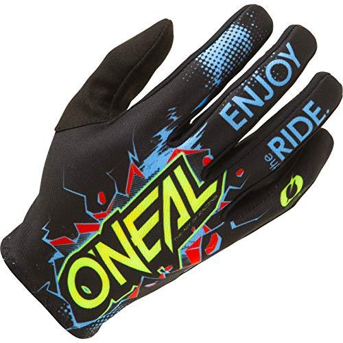 O'NEAL | Guante de Ciclismo Motocross | MX MTB DH FR Downhill Freeride | Materiales duraderos y Flexibles, Palma ventilada | Matrix Youth Glove Villain | Niños | Negro | Talla M
