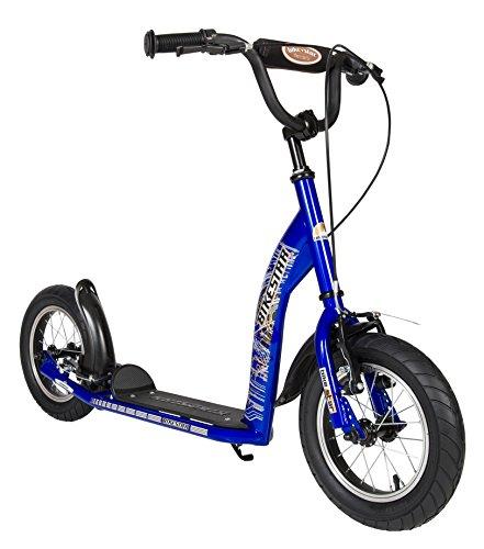 BIKESTAR Patinete Infantil Patineta Scooter Premium Scooter para niños y niñas a Partir de 6-7 años   Edición 12' Sport   Azul
