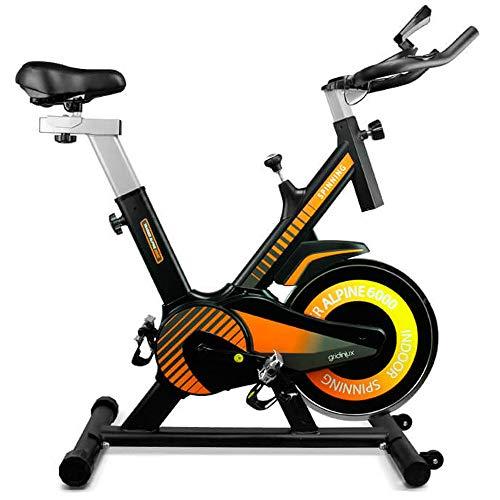 gridinlux. Trainer Alpine 6000. Bicicleta estática Spinning. Volante Inercia 10 kg, Regulación...*