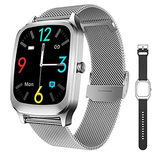 CatShin Smartwatch Mujer Reloj Inteligente Hombre Impermeable con Pulsómetro, Podómetro,...*