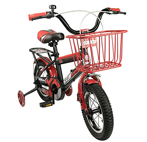 Airel Bicicletas Infantiles para Niños y Niñas   Bici con Ruedines y Cesta   Bicicletas 12, 16, 18...*