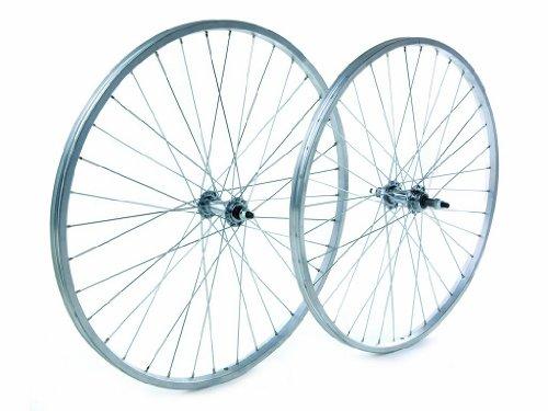 Tru-build Wheels RGR809 - Rueda Trasera para Bicicleta (26 Pulgadas), Color Plateado*