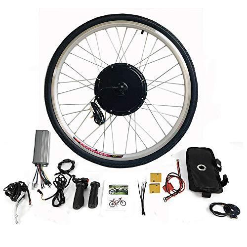 Bicicleta eléctrica, rueda trasera, 36 V, 500 W, kit de reequipamiento para bicicleta eléctrica,...*