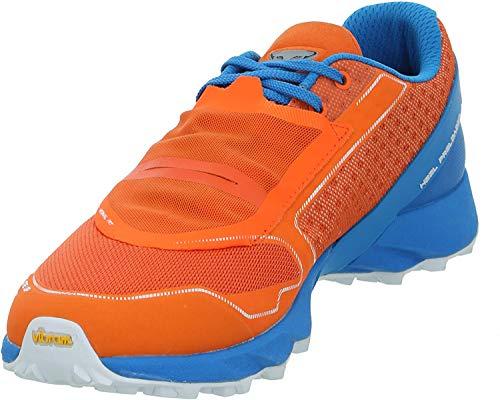 Dynafit Feline UP, Zapatillas de Running Hombre, Orange/Methyl Blue, 44 EU
