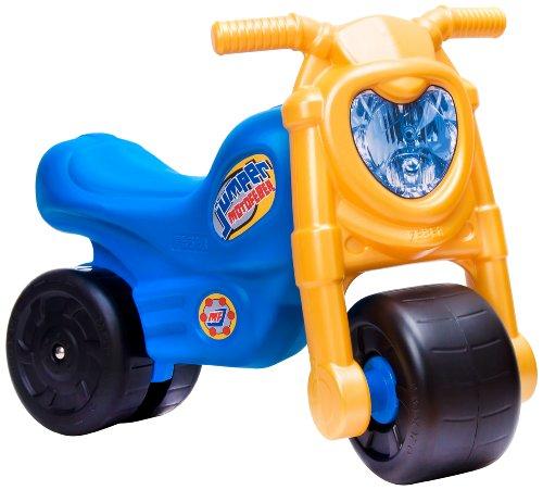FEBER - Moto Jumper, Moto correpasillos de Color Negro, Azul y Amarillo*