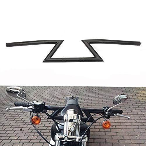Manillar universal de 22 mm de JFG Racing para Harley Sportster Cruiser XL 883 1200, Chopper Softail...*