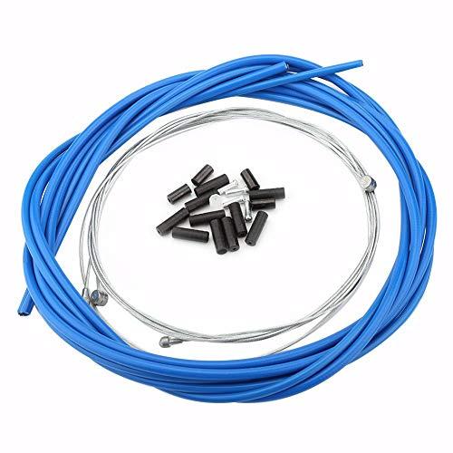 V GEBY Juego de Cables de Cambio de Bicicleta Cable de Cambio de Alambre de Bicicleta con Tubo de...*