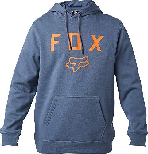 Fox Racing Men's Legacy Moth Hoody,2X-Large,Blue Steel Sudadera con Capucha, Acero Azul, XXL para Hombre