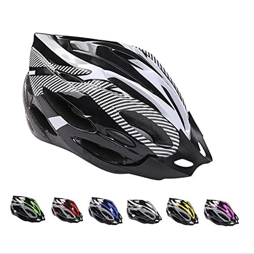 Casco de Bicicleta de Montaña, Casco de Bicicleta para Adultos Casco Ajustable con Visera...*