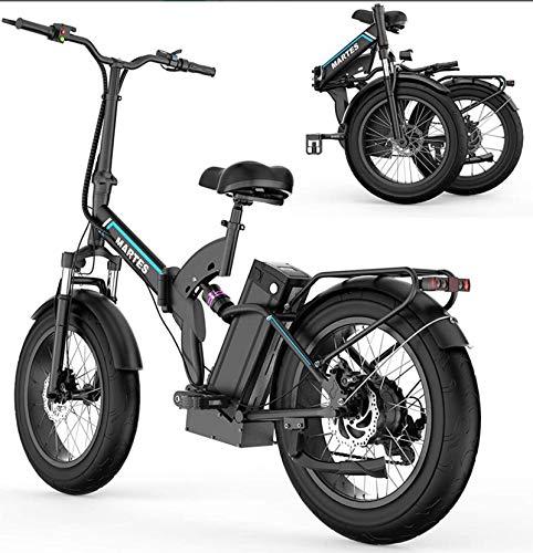 Fly YUTING Bicicleta eléctrica eléctrica Plegable de fábrica Original de 20 Pulgadas Ebike 500W Bicicleta eléctrica