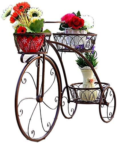 Decorativo Soporte de Exhibición de Bicicletas, Soporte de Maceta de Flor, Soporte de Maceta, 3...*
