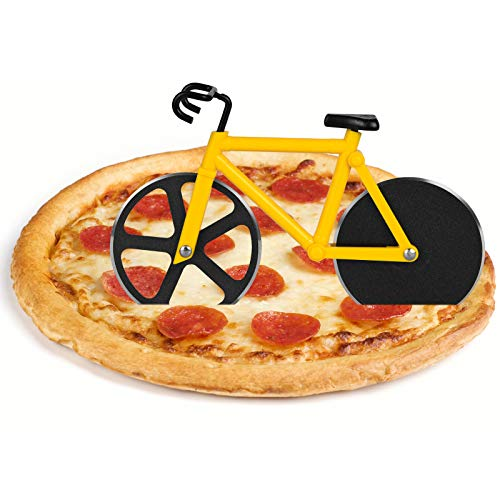 flintronic Corta Pizza Antiadherente, Ruedas Cortadoras De Pizza De Bicicleta, Cortadora de Pizza...*