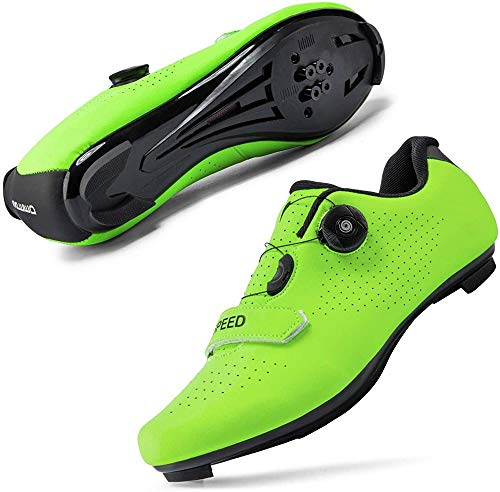 JINFAN Calzado de Ciclismo - Hombre Mujer Calzado de Bicicleta Racing Zapatillas de Bicicleta de...*