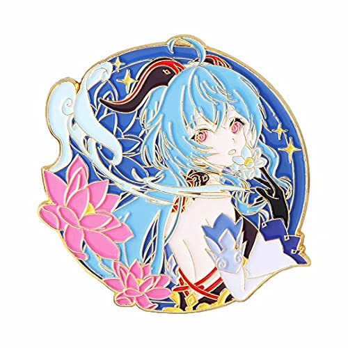 Genshin Impact Badge Broche Pin Llavero Personajes de dibujos animados lindos Botón Bolsas Mochila...*
