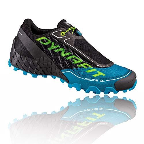 Dynafit Feline SL, Zapatillas de Running Hombre, Asphalt/Methyl Blue, 42 EU*