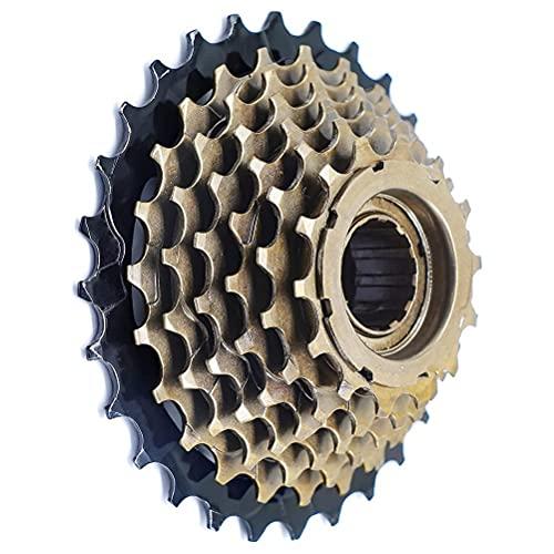 Nuryme Cassette de bicicleta de montaña, rueda libre, 6/7 velocidades, 14 – 28T, de metal, rueda libre, pieza para bicicleta de carretera y mountain bike