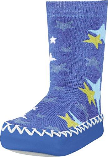 Playshoes Zapatillas con Suela Antideslizante Estrellas, Pantuflas Unisex niños, Azul (Blau 7),...*