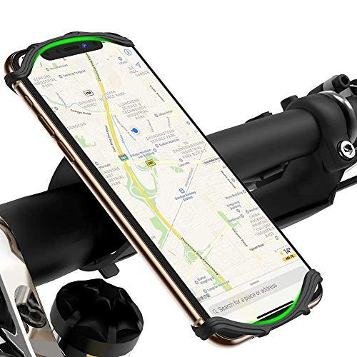 VUP Soporte Móvil Bicicleta, 360° Rotación Ajustable Soporte Móvil Moto para iPhone SE/11...*