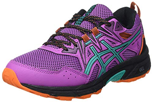 Asics Gel-Venture 8, Trail Running Shoe Mujer, Digital Grape/Baltic Jewel, 37.5 EU*