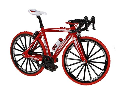 Toys Amsterdam Juego de bicicleta de carreras en miniatura, 17 cm, color rojo*