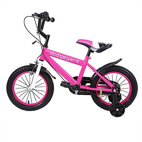 MuGuang 14 Pulgadas Bicicleta Infantil Estudio Aprendizaje Montar a Caballo Bicicleta niños niñas...*