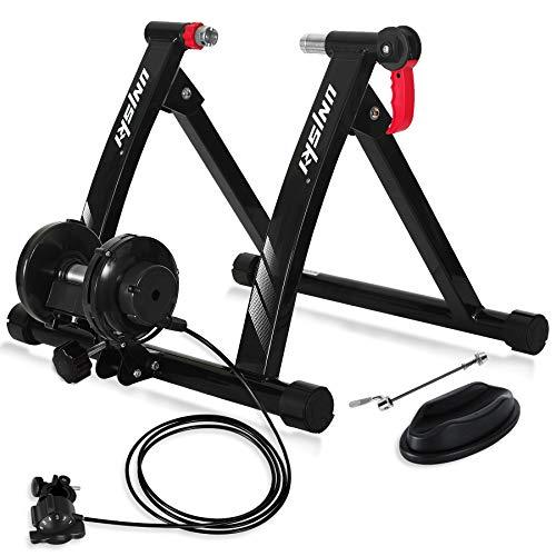 unisky Rodillo para Bicicleta Rodillo Magnético Bicicleta para Entrenamiento con Control de Alambre...*