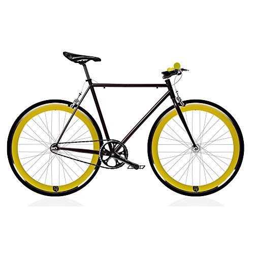 Mowheel Bicicleta Fix 2 Amarilla. Monomarcha Fixie/Single Speed. Talla 53…