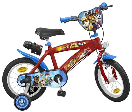 TOIMS Paw Patrol Bicicleta de Niño, tamaño 14 Pulgadas*
