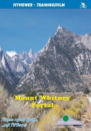 FitViewer Mount Whitney Portal Indoor Video Cycling USA