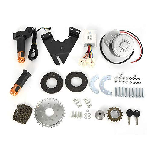 Kit de conversión para bicicleta eléctrica, 250 W, 24 V, motor trasero con rueda libre*