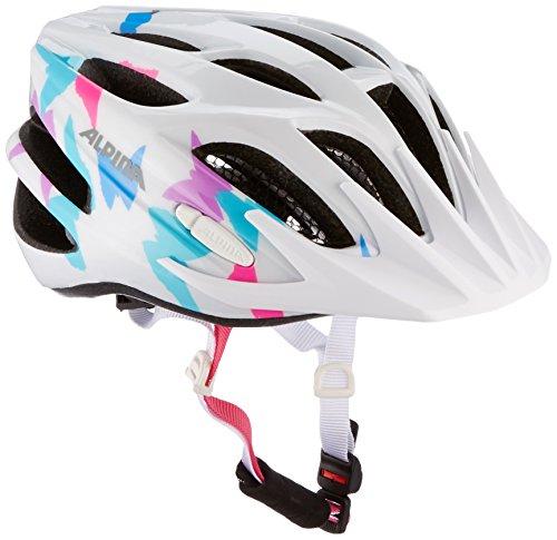 Casco de ciclismo Para Niño Alpina FB 2.0, Niños, Radhelm FB JR 2.0, White Butterfly, 50-55