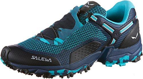 Salewa WS Ultra Train 2, Zapatillas para carrera de senderos Mujer, Azul (Capri/Poseidon), 35 EU