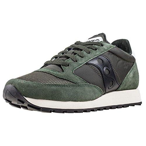 Saucony Jazz Original Vintage, Zapatillas de Cross Unisex Adulto, Verde (Green/Black 8), 42.5 EU*
