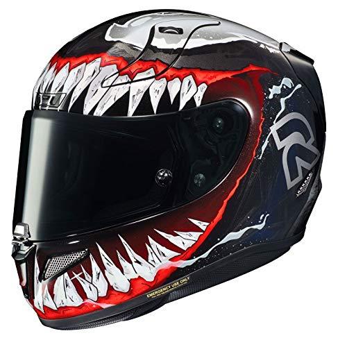 HJC R-PHA-11 Helmet, Hombre, Negro/Rojo, S*